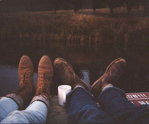 shoes, vintage, and couple image