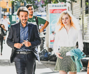 diego luna, Elle Fanning, and the neon demon image