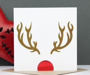 card, christmas, and christmas card image
