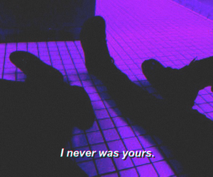 aesthetic, purple, and quote image