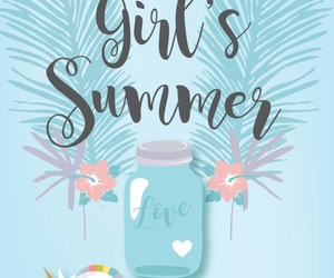 summer, wallpaper, and girl image