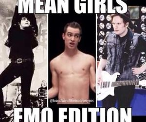 brendon urie, FOB, and gerard way image