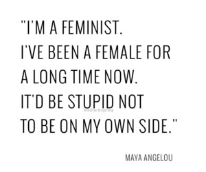 quotes, feminist, and feminism image