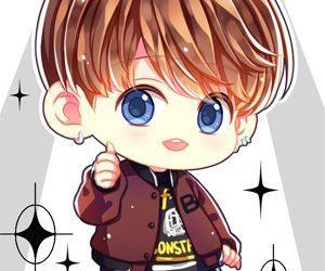 chibi, k-pop, and bangtan boys image