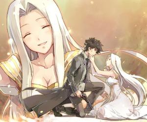 couple, fate zero, and anime image