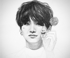 fanart, k-pop, and bts image