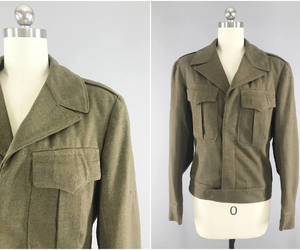 etsy, military jacket, and army jacket image