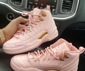 jordan, pink, and shoes image