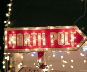 christmas, north pole, and winter image
