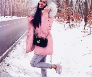 winter, classy, and fashion image
