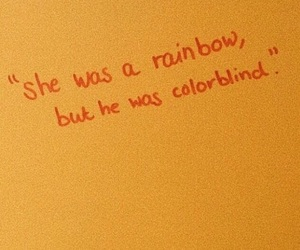 quotes, aesthetic, and rainbow image