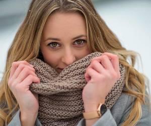 mode winter girl nice image