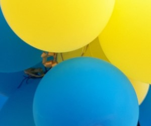 baloons, wallpaper, and blue image