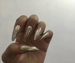 shining nails and sparkly claws image