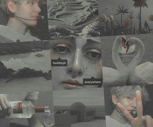 Collage, tumblr, and v image