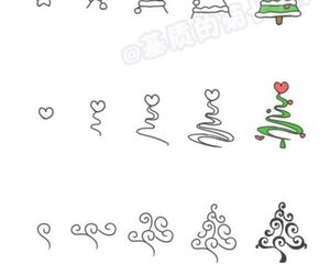 christmas and draw image
