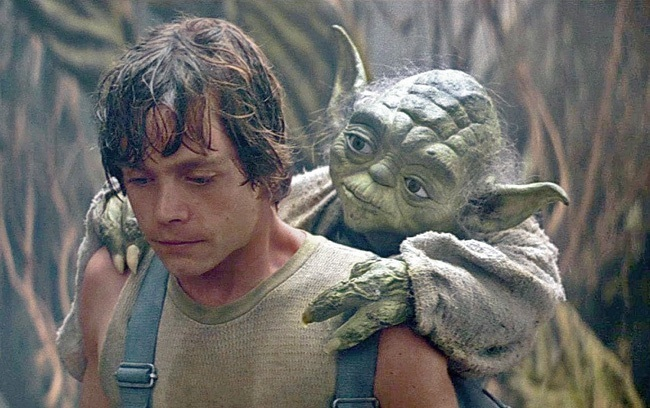 Luke and Yoda shared by @Ines_Haliwell_29 on We Heart It