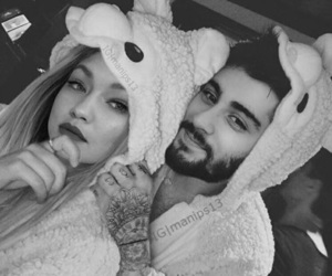 zayn, gigi, and goals image