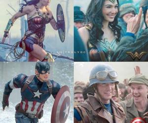 batman, captain america, and chris evans image