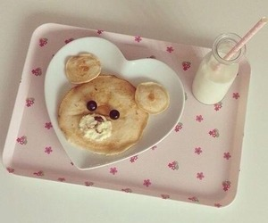 food, cute, and milk image