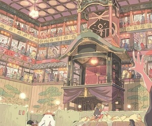 anime, studio ghibli, and spirited away image