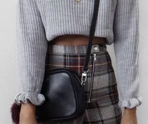 blouse, grey, and fashion image
