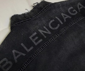 Balenciaga, black, and inspiration image