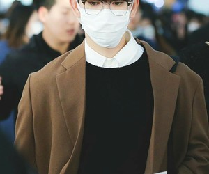 airport, handsome, and kfashion image