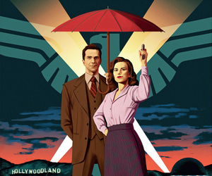 agent carter, hayley atwell, and Marvel image