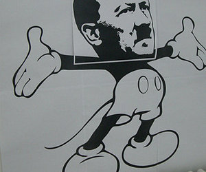 hitler and mickey image