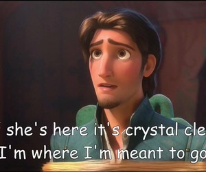 home, love, and tangled image