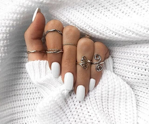 accesories, nails, and girl image