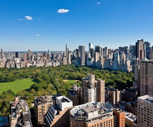 new york, nyc, and park image