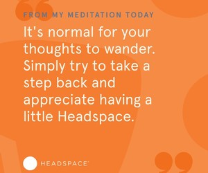 meditation, headspace, and loving it image