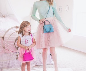 family, fashion, and girly image