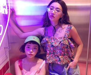 girls, korea, and tumblr image