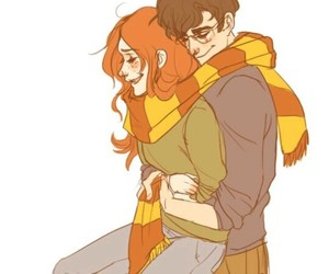 harry potter, jily, and james potter image