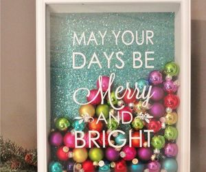 christmas, winter, and bright image