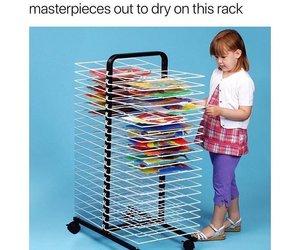art class and art rack image