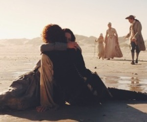 series, outlander, and tvshows image