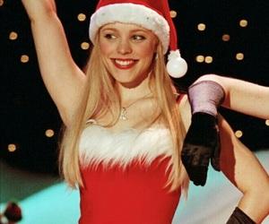 christmas, beauty, and girl image