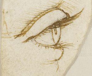 art, da vinci, and drawing image