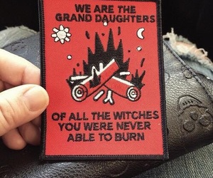 witch, burn, and magic image