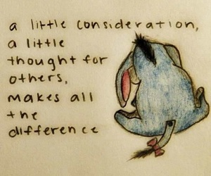 quotes, eeyore, and winnie the pooh image