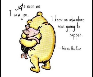 winnie the pooh, quotes, and adventure image