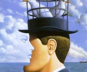 art, surreal, and surrealism image