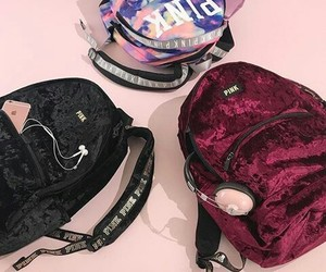 backpack, fashion, and Victoria's Secret image