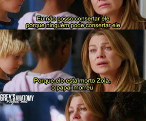 ellen pompeo, meredith grey, and sad image