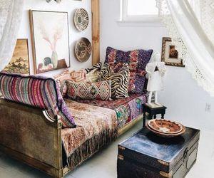 livingroom, shabby chic, and sitting room image
