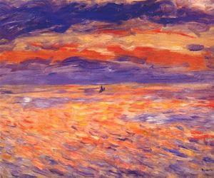 art, flowers, and Pierre-Auguste Renoir image